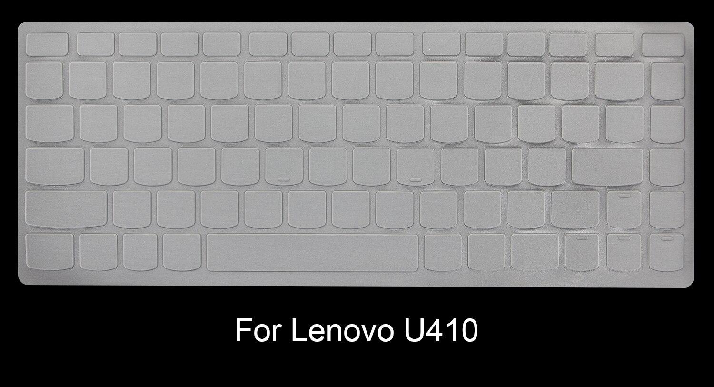 КРЗ ультра тонкий Ясно ТПУ Клавиатура протектор кожного покрова для Lenovo IdeaPad U410 u400 U310 u300s S400 s405 Yoga13 Ultrabook m490s