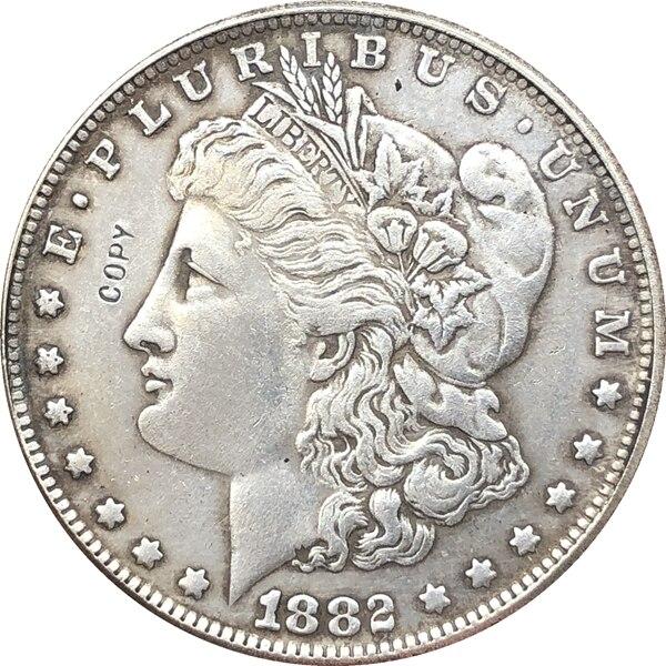 1882-S USA Morgan Dollar Coins COPY