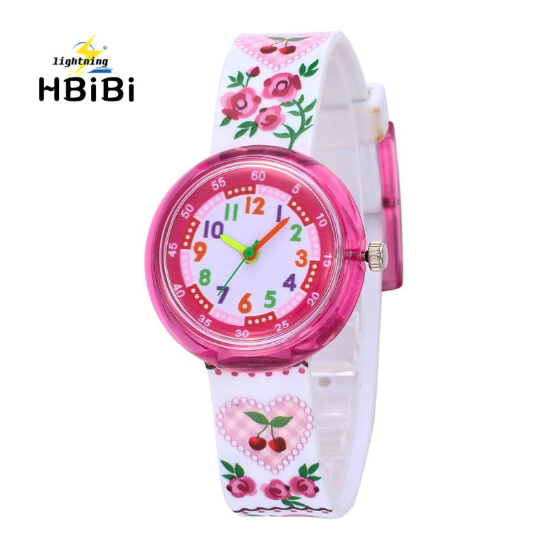 Children's Watches Cartoon Dog Children Digital Electronic Toy Flower Watch Kids Girls Boys Students Sports Clock Child Watches Quartz Wristwatches