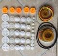 Шкив сочетание пакета колесо группа ремни резиновые резинкой модель игрушки аксессуары для научных экспериментов Diy