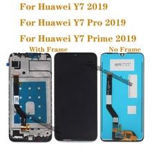 Dla Huawei Y7 Pro 2019 DUB LX2 DUB L22 ekran dotykowy LCD dla Huawei Y7 2019 wyświetlacz LCD naprawa części