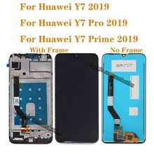 For Huawei Y7 Pro 2019 DUB LX2 DUB L22 LCD touch screen  for Huawei Y7 2019 LCD display repair parts