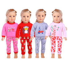 13 Styles Pajamas&Nightgown&sleepwear Fit 18 Inch American&43 CM Baby Doll Clothes Accessories ,Girl's Toys,Generation,Birthday