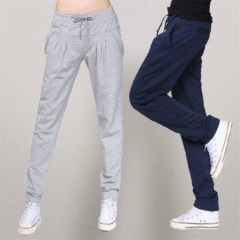 2019 осенние свободные брюки женские повседневные шаровары длинные брюки высокого качества повседневные весенние тренировочные брюки плюс ... >> Large size women's clothing store