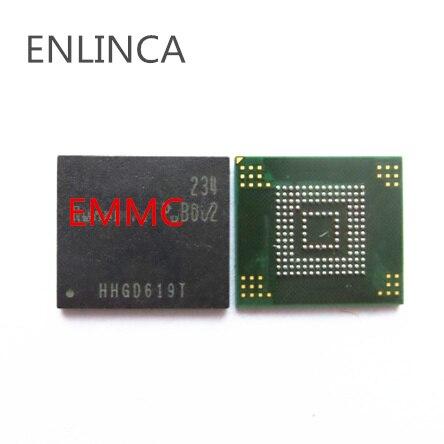 1-5 pièces mémoire eMMC flash NAND KLM8G1WEMB-B031 KLM8G2FE3B-B001 EMMC KLM8G1WEMB KLM8G2FE3B KLMAG2GEAC-B031 KLMAG2GEAC emc
