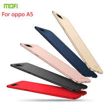 For Oppo A5 Case MOFI Fitted Cases High Quality PC Hard Cover Phone Shell Ultra thin