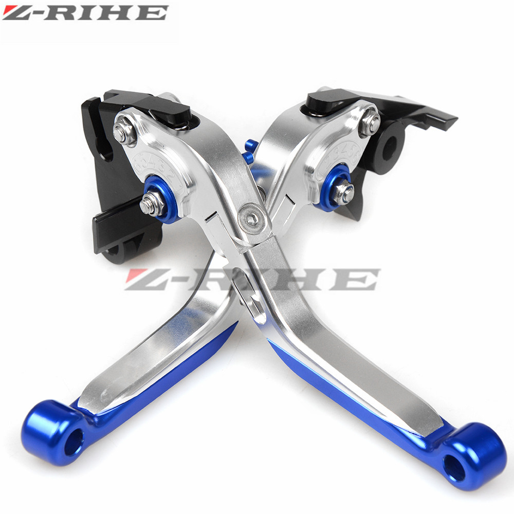 Motorcycle Adjustable Folding Extendable Extending Brake Clutch Levers fits FOR YAMAHA YZF R25 YZF R3 MT03 MT25 MT-02 2015-2017 for yamaha yzf r15 2013 2016 aluminum cnc adjustable extending brake clutch lever blue