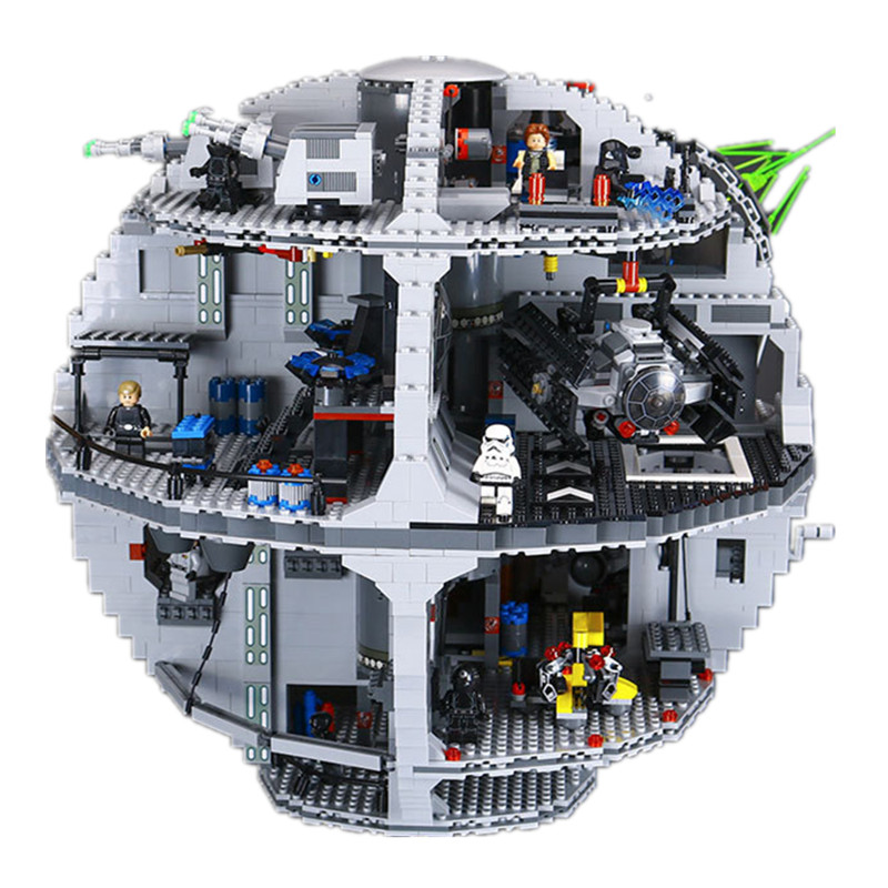 4116PCS 05063 Star Wars series the new death star 3 assembled Building Blocks Bricks Compatible LEGO  toys boy gift