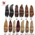 Envío gratis 100g/pac recta de seda micro anillo extensiones de cabello de grado 6A 100% remy del pelo humano 18 ''24'' 100 s se puede personalizar