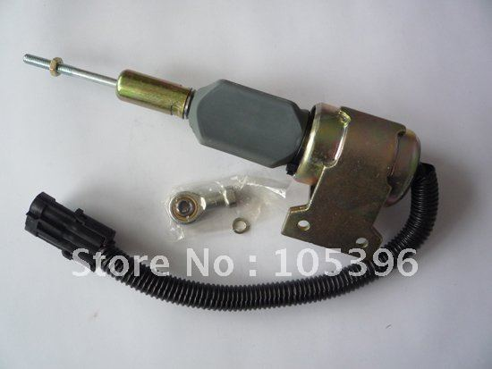 Топливо Shutdown Электромагнитный Клапан 3932529 SA-4756-12 для Двигатель 4B 6B (3 шт. много) + быстрая бесплатная доставка по FEDEX/DHL
