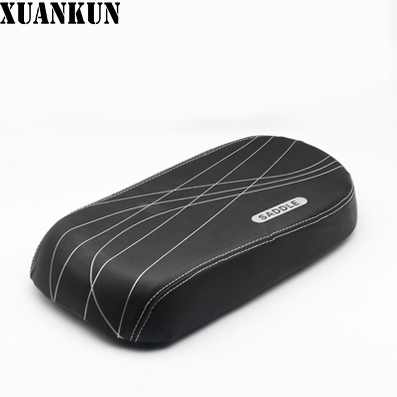 XUANKUN Simple Electric Car Seat Cushion Board Battery Car Saddle Seat Back Pad Rear Seat Cushion