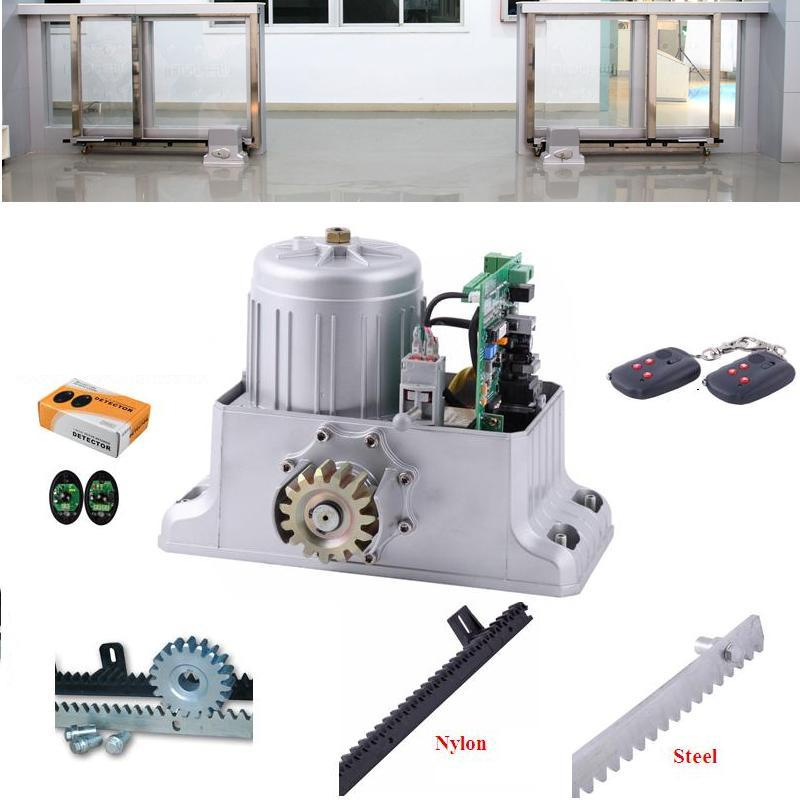 Automatic Sliding Gate Opener for home automation 1800KG(1 motor + 1 sensor + 5 meter rack )