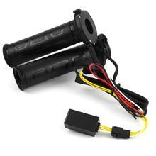Universal 7/8″ Motorcycle handlebar grips Heated handle bar warm heating Motorbike handlebar grips