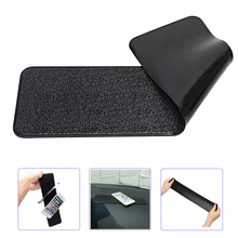 Large Long Car Dashboard Sticky Pad Non Slip Mat Gel Magic Anti slip Mat For Phone Key GPS Tablet Holder Car styling PU Leather