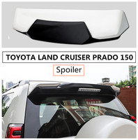 Spoiler For TOYOTA LAND CRUISER PRADO 150 2010 2019 Wing Spoilers High Quality ABS Stoving Paint Car Modification Accessories