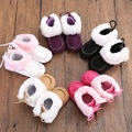 New Winter Newborn Baby Warm Pre-walker Shoes Infant Boy Girl Toddler Soft Soled First Walker