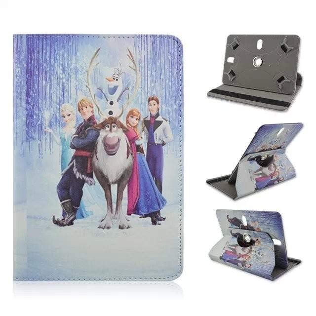 10 inch Universal Tablet Elsa Cartoon Case PU Leather Case Cover For Lenovo TAB 2 X30 X30F X30M A10-30 A10-70F a10 70 10.1