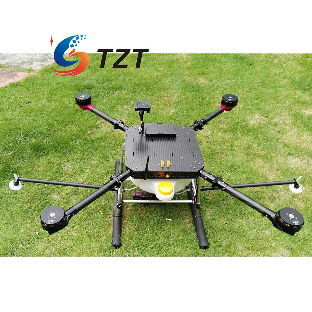 4 Axis 1200mm Carbon Fiber FPV Drone Quadcopter Plant Protection Agricultural with Landing Gear delta kce 32