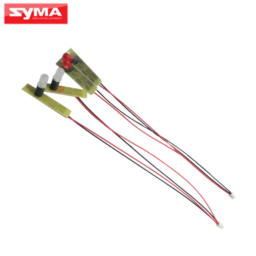 4Pcs SYMA LED Light For X8 X8C X8W X8G X8HC X8HW X8HG RC Quadcopter Drone Red White LED Spare Parts Helicopter Accessor