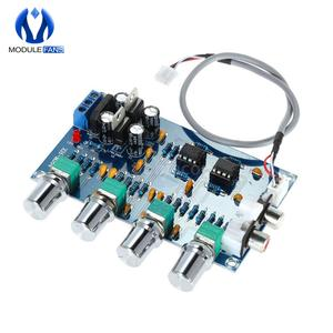 Board Audio Amplifier-Module Telephone-Preamp Tone NE5532 Ch-Control-Circuit Stereo 4-Channels