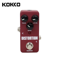 KOKKO Portable Mini Pedal Guitar Distortion Effect Pedal Guitar Parts Accessories