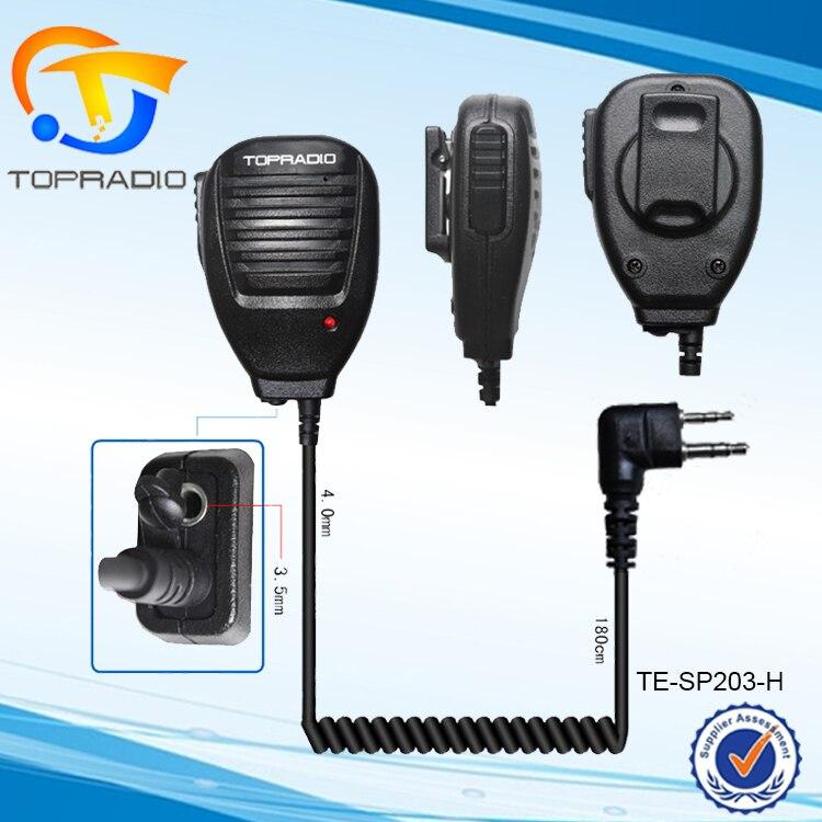 Itone Electronic Co.,Ltd Two Way Radio FM Transceiver Portable Speaker Microphone For HYT TC-446 TC-500 TC-510 TC-508 TC-518 TC-600 TC-710 TC-780