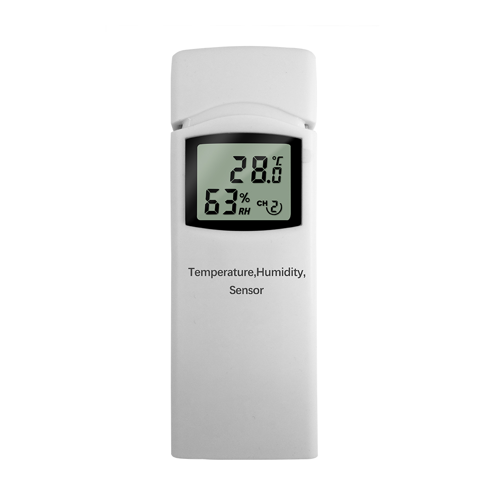PROTMEX Weather Station Out door Temperature Humidity Wireless Sensor Accessories Match PT2810 Weather Station Indoor ReceiverPROTMEX Weather Station Out door Temperature Humidity Wireless Sensor Accessories Match PT2810 Weather Station Indoor Receiver