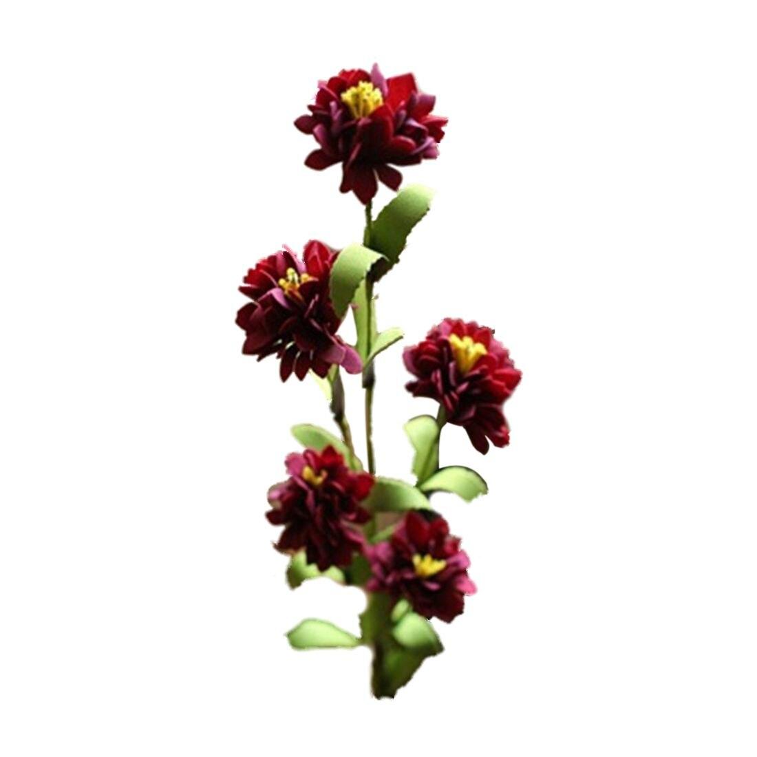 Compare prices on carnation flower arrangement online shopping uesh 4 bouquets 5 heads carnation silk flower artificial flower for home decor diy flower dhlflorist Gallery