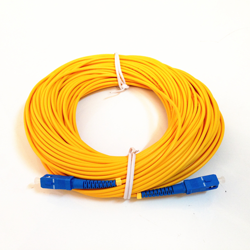 Free Shipping Optical Fiber Jumper SC SC SM SX 3mm 50M 9/125um 50 Meters SC/UPC Fiber Optic Patch Cord