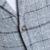 Chaqueta de Los Hombres de Moda Paño de Lana A Cuadros Estilo coreano Slim Fit Traje Chaqueta Hombre Otoño Casual Equipada Chaqueta de Abrigo chaqueta masculina