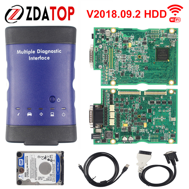 ZOLIZDA V2018.09.2 Newest forGM MDI Multiple Diagnostic Interface ForGM MDI WIFI Multi-Language For Opel Scanner On Sale(China)