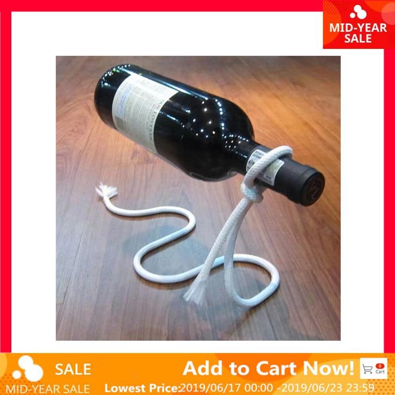Многофункциональный металлический одна бутылка вина Дисплей подставка держатель полки Кухня, столовая, погреб, крючок