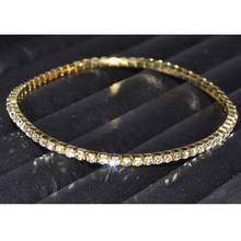30Pcs/lot Row Crystal Ankles for Women 1 Rhinestone Anklet Chain Ankle Bracelets Foot Jewelry tornozeleira femininas