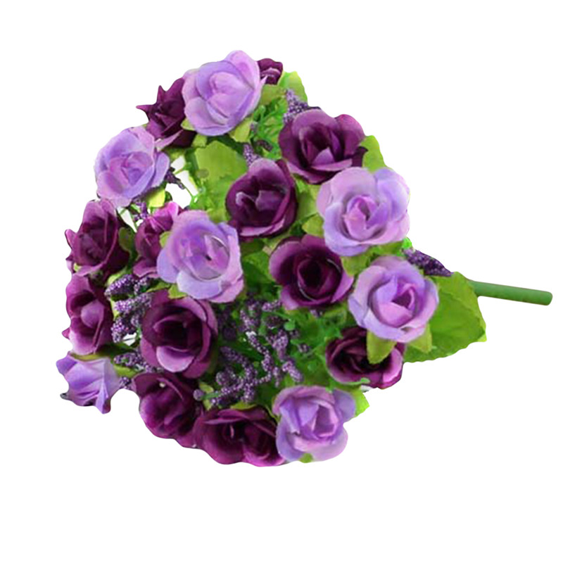 Home Decorations For Wedding Party Or Birthday Always Buy Good Other Mobility & Disability 3 Heads Latex Rose Small Buds Artificial Flowers Real Touch Rose Flowers