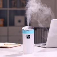 Coo Lif 2016 New Mini 300ML Portable USB Ultrasonic Humidifier Car Anionic Humidifier Air Purifier Mist