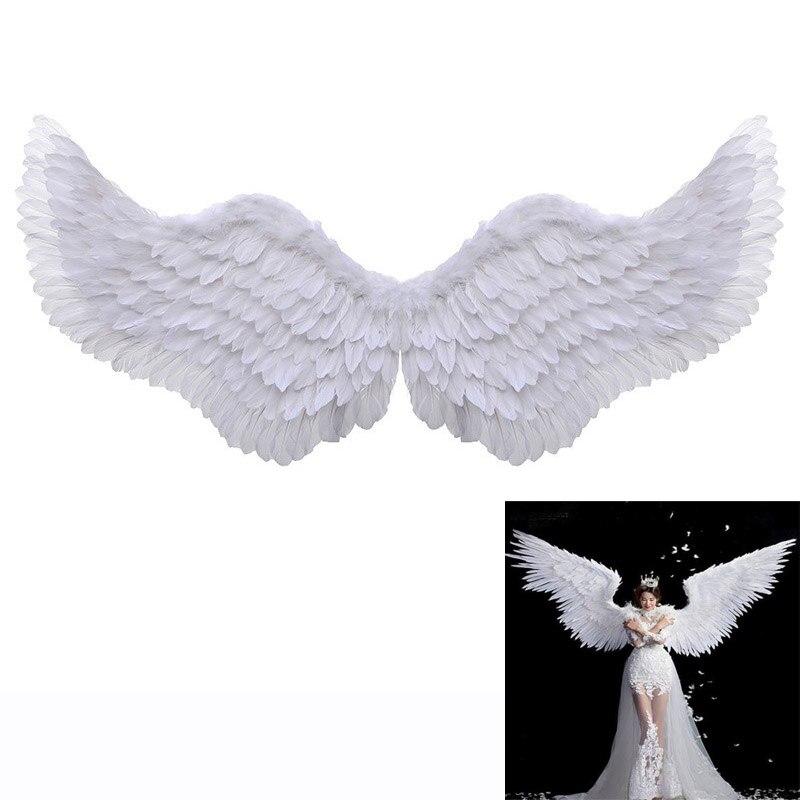 Новые Подиумные модели для реквизита, белые крылья ангела, крылья для взрослых, размер для танцев, автошоу, вечерние принадлежности, праздничные вечерние GCB001