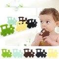Brinquedos Teether BPA Silicone Dentição do bebê-Livre do Trem Do Brinquedo para As Crianças Do Bebê Das Meninas Dos Meninos