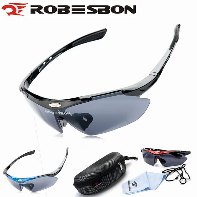 ROBESBON Men Cycling Eyewear Sunglass Outdoor Cycling Glasses Bicycle Bike Sun Glasses Eyewear Goggle Las gafas