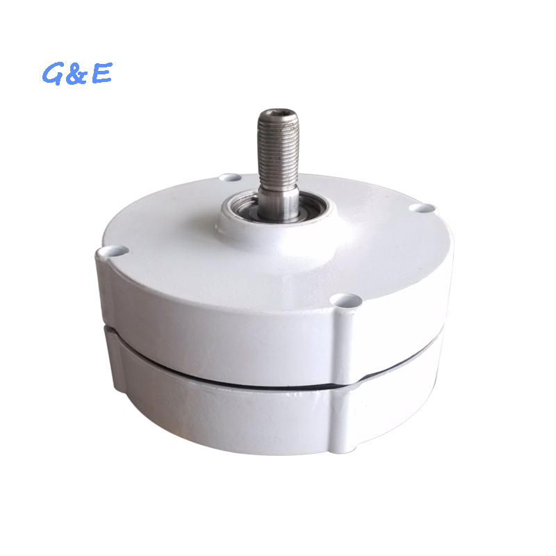 Free shipping PMG with DC waterproof controller 100w permanent magnet generator 12v 24v for option