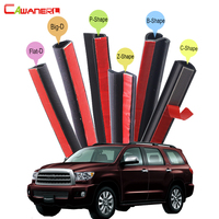 Whole Car Sealing Strip Kit Rubber Seal Edge Trim Weatherstrip Anti Noise For Toyota 4Runner FJ