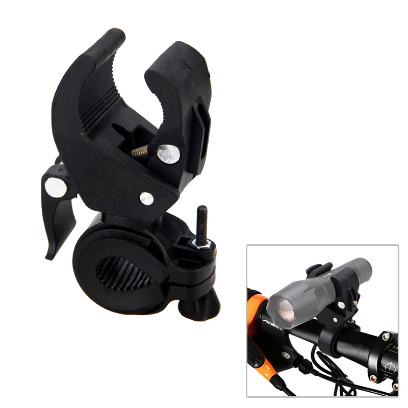 Cycling Bicycle Bike Mount Holder for LED Flashlight Phone Torch Clip Clamp SP