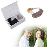 High Quality Hearing Aid Portable Small Mini Invisible Best Sound Amplifier Adjustable Tone digital Hearing Aids Ear Care