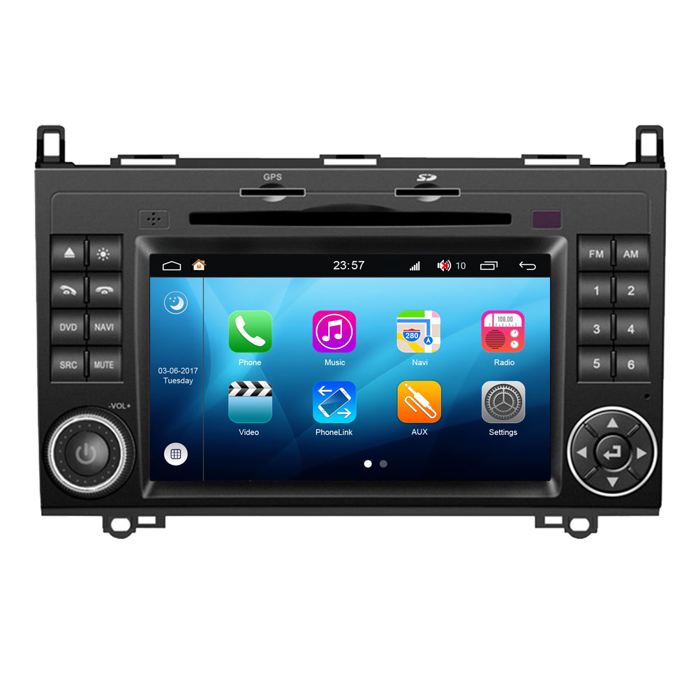 Android 8.0 For Mercedes Benz W169 W245 Vito Viano Sprinter Touch Screen Car DVD GPS Autoradio Head Unit Audio Video Player