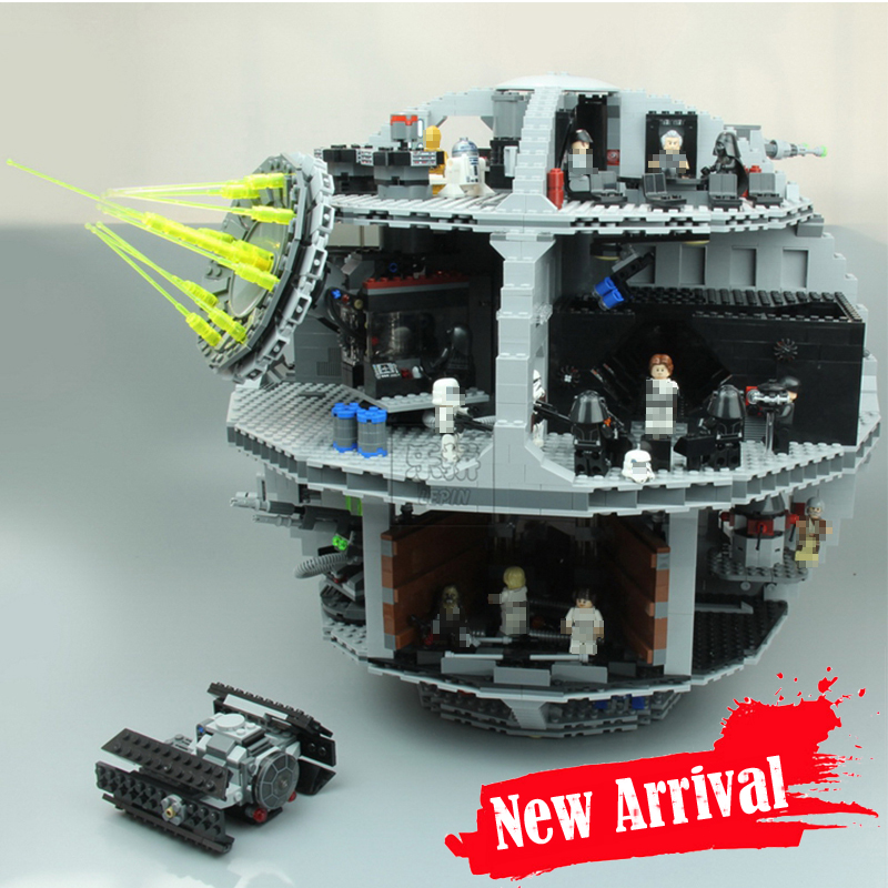 LEPIN 05063 4016pcs Death Star Clone Wars Building Blocks Bricks Toys For children gifts oyuncak Compatible legoINGly 75159
