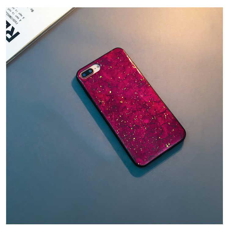 Ốp Lưng Dành Cho Samsung Galaxy Samsung Galaxy S8 S9 S10 Lite Plus E Note8 Note9 G973F G970F Di Bling Epoxy Cao Cấp Vàng giấy Mềm Mại Ốp Lưng Silicon