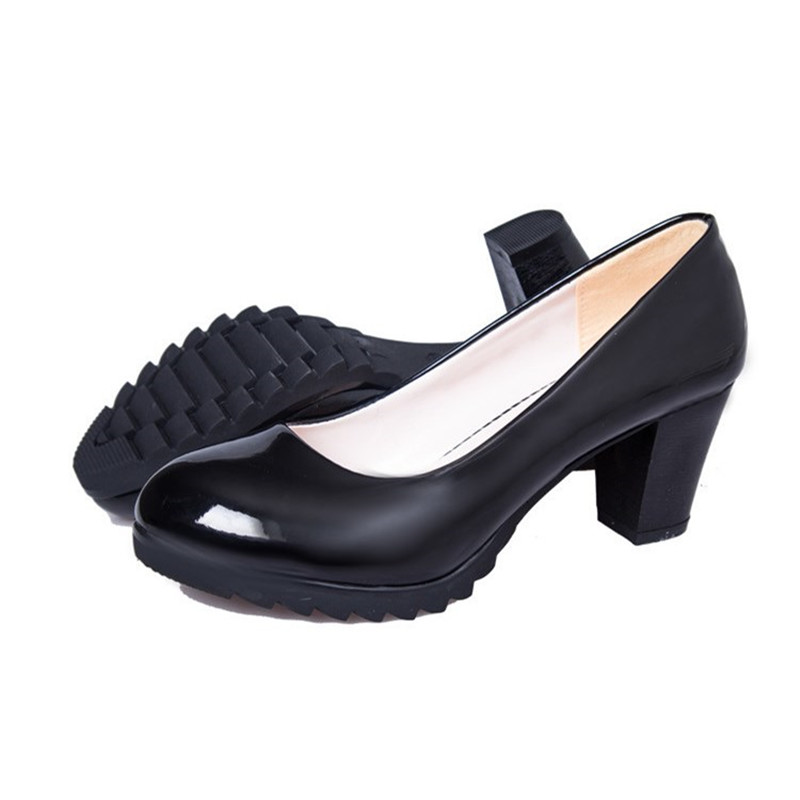 6.5cm Block Heel Pointed Toe New Hot Comfortable Elegant Shoes Women High  Heels Sexy Party Office Pumps Thick Heel Ladies ShoesUSD 16.80-18.80 pair af94a77db347