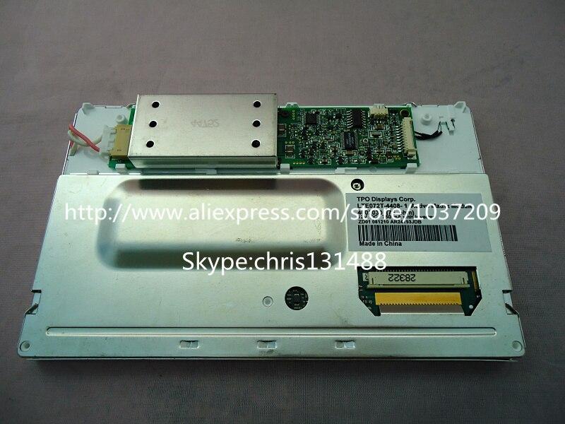 LTE072T 050 mobile Display Systems 12V LCD module for Peugeot Citroen C5 Navigation car audio system