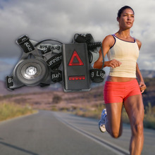 NEW Popular outdoor sport running lights Q5 LED night running flashlight warning lights USB charge Chest lamp white light torch