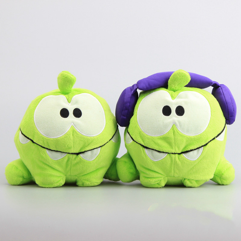 8 20cm Frog cut the rope om nom soft toy stuffed dolls plush toys for children gift 1 pcs