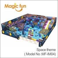 Магия Забавная детская площадка большой слайд оборудования мягкая игра развлечений для детского сада игрушки